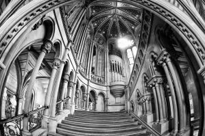 Manchester Town Hall by Engazung