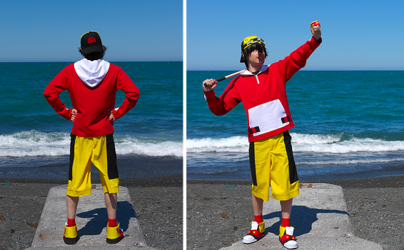 Pokemon Gold Cosplay by paul375