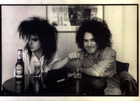 robert smith and simon gallup by TobiLOV