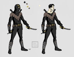 Dick Grayson Talon 2 by Kingofthieves