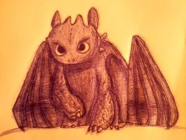Toothless :3 by Dhaliixa1D