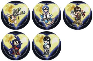 Kingdom Hearts: BbS Badges by RedPawDesigns