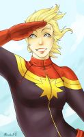 Captain Marvel by Mirabel-chan
