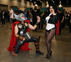 Unholy Matrimony of Marvel and DC by strikes-twice