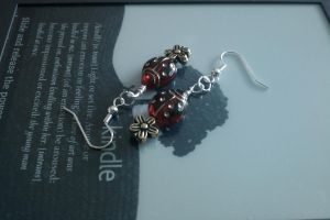 Ladybird Earings by thepapercraftcouple