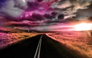 The Road by TPextonPhotography