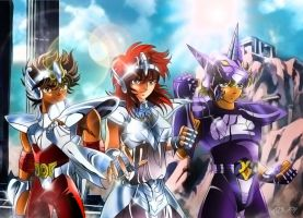 Saint Seiya - HORSE TEAM - Final by Iso-pI