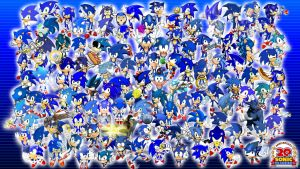 Project 20: Sonic Wallpaper 1 by TheWax