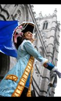 Hetalia: Notre Dame and France by LiquidCocaine-Photos