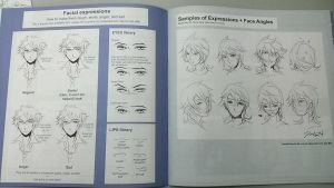 actual photo of inside pages of Anitomy book II by darkn2ght