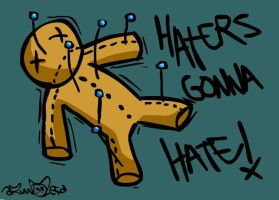 Haters gonna hate by mynameisnurb