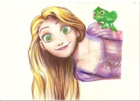 rapunzel by yoolin
