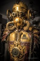 Steampunk costume - warrior by steamworker