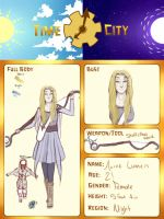 TimeCity Application Sheet: Aurae Lumen by Susurratrix
