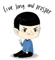 Goodbye Mr. Nimoy by maicafee