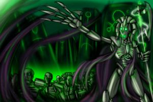 The Necron by Beanjamish