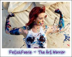 Art Warrior ID by fetishfaerie
