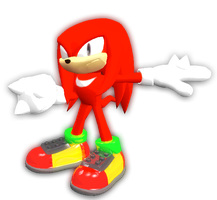 Knuckles(Classic) by JaysonJean