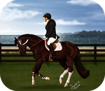 Earned It - NIEC Showjumping 1st Place by Prettybold