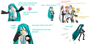 mmd anti bullying comic by Tehrainbowllama