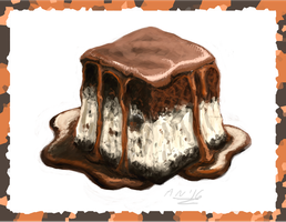 Ice cream cake (older doodle) by Almy-Nol