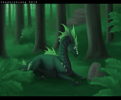 AT Lyhty-green forest by TheDarkHyena