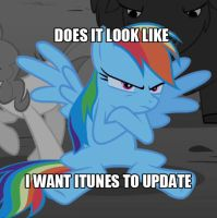 Dose it Look Like I Want my itunes to Update by gork105