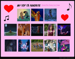 My Top 13 Favorite Disney And Non Disney Love Song by Mileymouse101