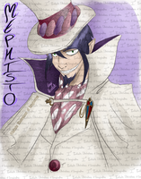 Blue Exorcist (Ao no Exorcist) - Mephisto by I3-byUsagi