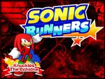 Sonic Runners - Knuckles - Wallpaper by Knuxy7789