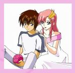 Kira and Lacus by teanachan