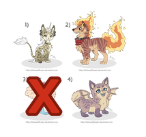 [SOLD] Adoptables Set by MySweetQueen