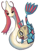 Feebas is Pretty Too! by fortytwotrees