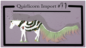 Quirlicorn Import 71 [Christmas Special] by MiusEmpire