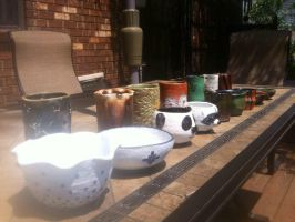 Ceramics I: Spring 2015 (View 3) by AngelLux13