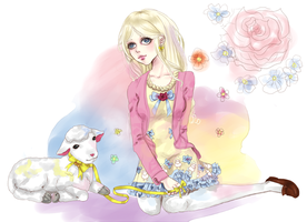 Mary Had a Little Lamb -Sofychu by dreaminginlove