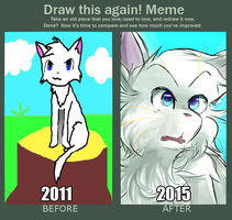 another draw this again meme by chiatten