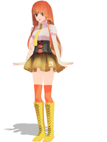 MMD Persika by FrenchiestToast