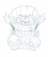 Tiki outline 001 by experiment48602