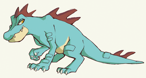 feraligatr by Effsnares