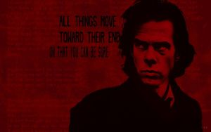 Nick Cave Wallpaper by calledkidblast