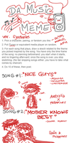 Music meme: OC Piri by synthelle