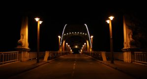 Bridge at night by Ketike