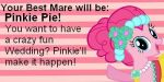 My Mare of Honor would be Pinkie Pie by KatieGirlsForever