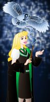Disney Hogwarts students: Aurora by Willemijn1991