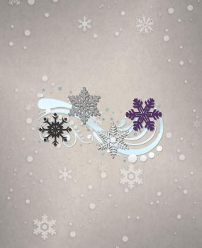 Asexual Snowflakes by lovemystarfire