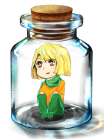 KND::362 in a glass jar by GM-Miru