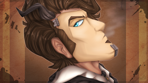 Smoke and Mirrors - Handsome Jack by Choco-Floof