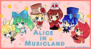 Alice in Musicland by creella