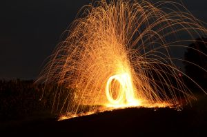 Sparks Experiment 003 by MichaelGBrown